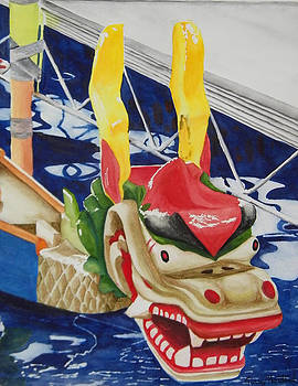 Dragon Boat by Terry Honstead