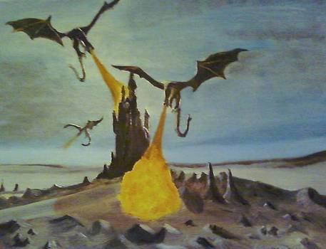 Dragon Fantacy by Dominc Whatley