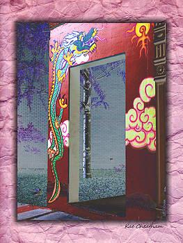 Kae Cheatham - Dragon on Portico
