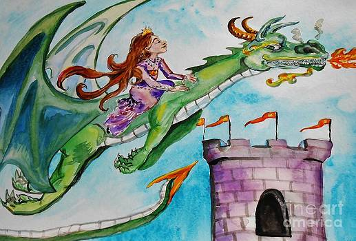 Dragon Pet by Emily Michaud