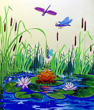 Hanne Lore Koehler - Dragonfly Pond