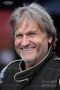 Dragstar Racing Driver Super Hero. by  Andrzej Goszcz