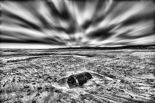 Steve Purnell - Drama At Freshwater West Mono