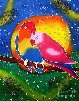 Dream Life-Whimsical painting by Priyanka Rastogi