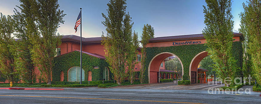 David  Zanzinger - Dreamworks Studio Burbank Glendale CA Panorama