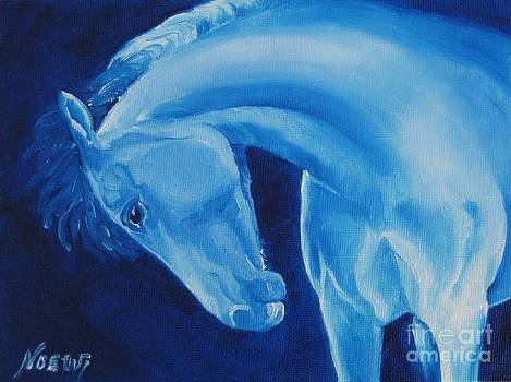 Jindra Noewi - Dreamy Blue Horse