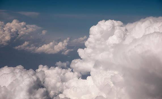 Jenny Rainbow - Dreamy Fields. Cloudscape. Aerial Photography