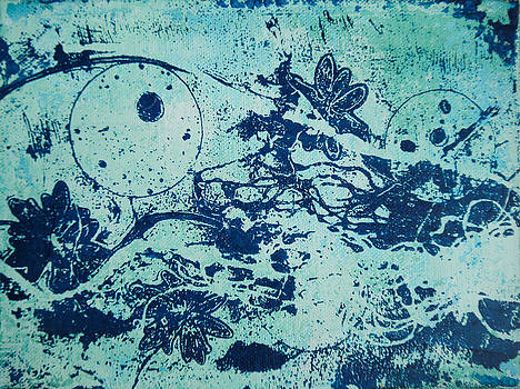 Dreamscape-blue by Bitten Kari