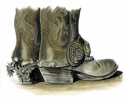 Dress Boots by Marie Downing