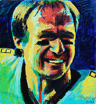 Drew Brees by Andrew Wilkie