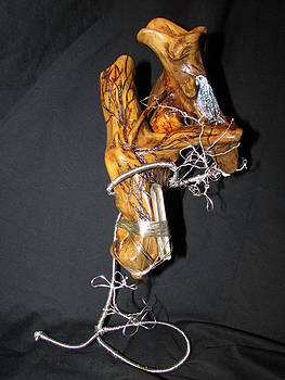 Driftwood Art by Cheryl Bailey