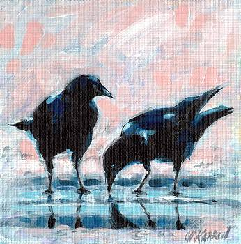 Christine Karron - Drinking Crows