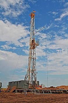 Drlling For Oil by Jason Drake