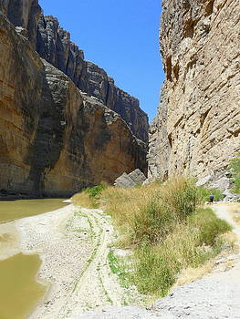 Drought in the Santa Elena Canyon by Avis  Noelle