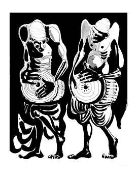 Drummers by Vadim Vaskovsky