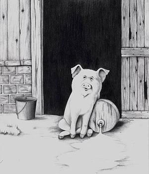 Drunk Pig by Karen E Marvel