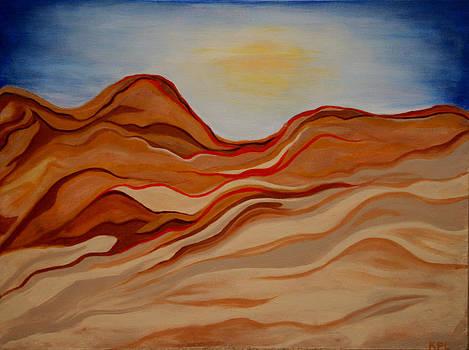 Kathy Peltomaa Lewis - Dubai Desert