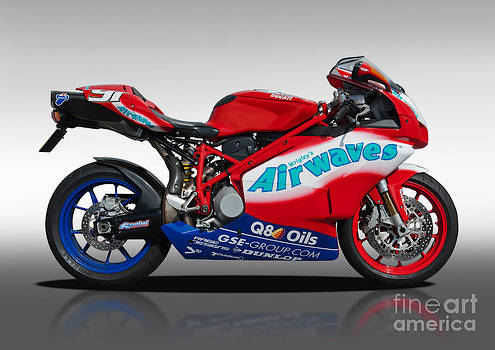 Ducati motocycle by Carl Shellis