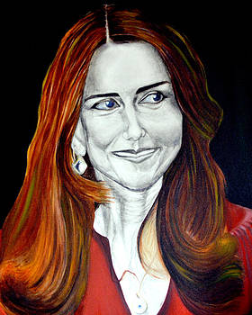 Duchess of Cambridge by Prasenjit Dhar