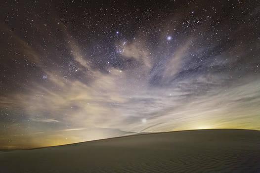 Dune Night by Alfredo Rougouski