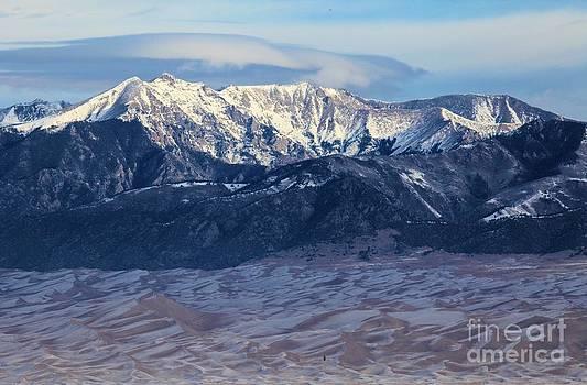 Adam Jewell - Dunes Clouds And Snowcaps