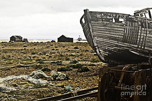 Dungeness Landscape by Lesley Rigg