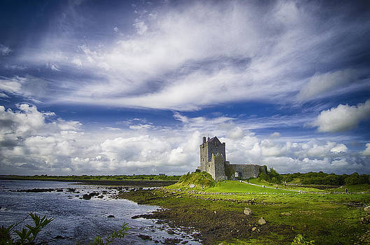 Dunguaire Castle Ireland by Giovanni Chianese