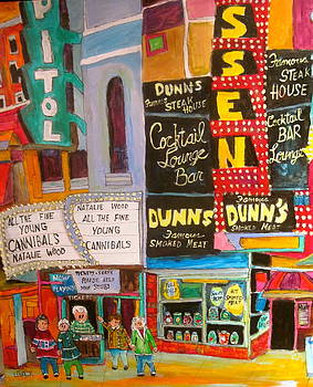 Dunn's and the Capitol by Michael Litvack