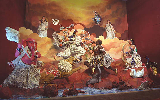 Durga Pratima 2013 by Biswajit Dutta Goutam Ghosh Keshab Das Sagar Roy