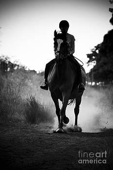 Dusk Rider by Alan Oliver