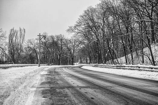 Dusted Road by CJ Schmit