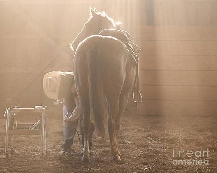 Dusty Morning Pedicure by Carol Lynn Coronios