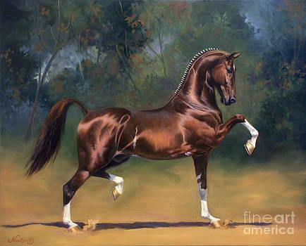 Dutch Harness Horse Saffraan by Jeanne Newton Schoborg