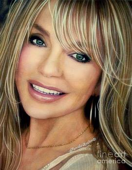 Dyan Cannon by Pamela Roehm