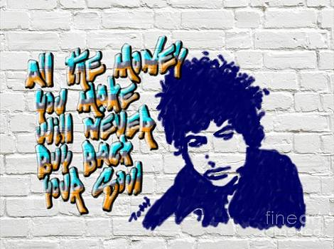 Dylan Graffiti2 by Laura Toth