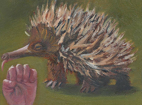 E is for Echidna by Jessmyne Stephenson