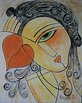 Each piece of my Heart.... by Renate Dartois