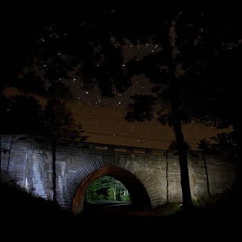 Eagle Lake Bridge 6745 by Brent L Ander