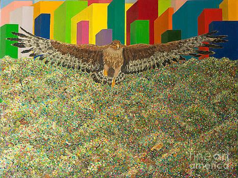 Eagle by Vladimir Nazarov