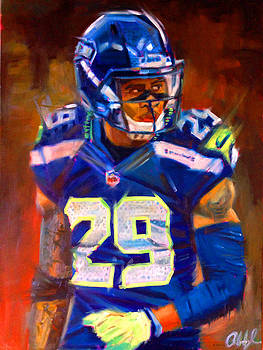 Earl Thomas 2 by Aaron Hazel