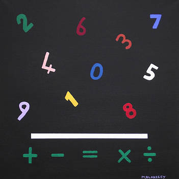Early Maths in Color by Martin Blakeley