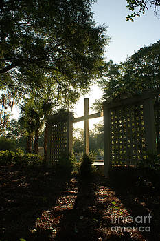Early Morning Cross by Sherry Vance