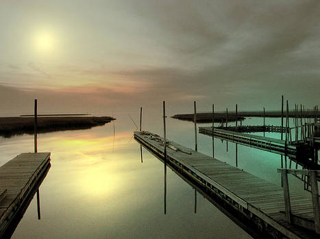 Early morning on the bay by Allen Beilschmidt