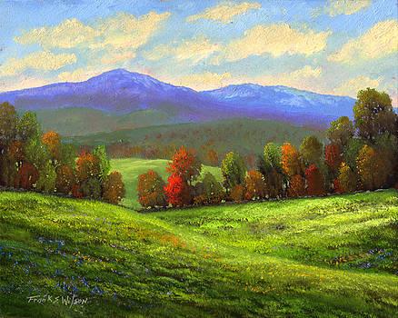 Frank Wilson - Early September Green Mountains