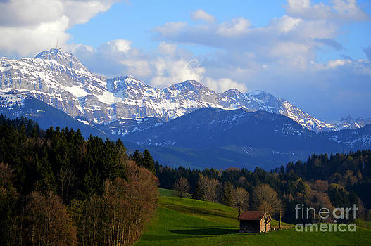 Susanne Van Hulst - Early Snow in The Swiss Mountains