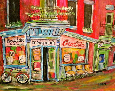 East End Depanneur by Michael Litvack