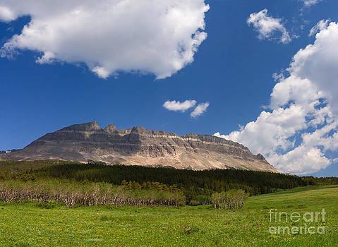 Charles Kozierok - East Flattop Mountain at the Saint Mary Entrance