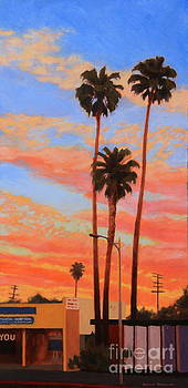 East Hollywood Palms by Andrew Danielsen