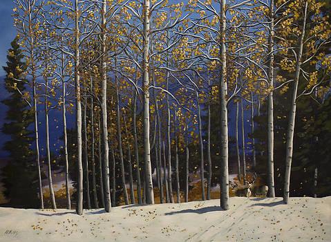 East Mountain Fall by Jack Atkins