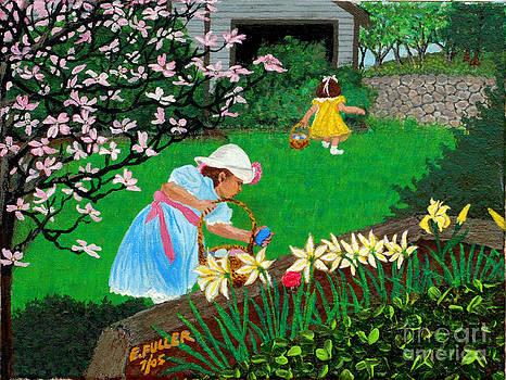 Easter at Grandma's by Edward Fuller